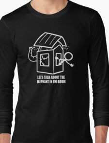 Let's Talk About The Elephant In The Room Long Sleeve T-Shirt
