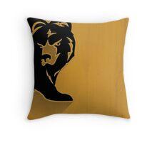 Boston Bruins Minimalist Print Throw Pillow