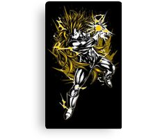 Super Saiyan Goku Shirt - RB00123 Canvas Print