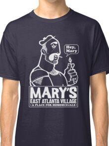 Burly Man (white ink) Classic T-Shirt