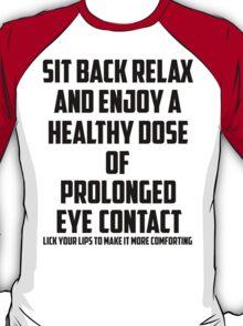 Bo Burnham - Prolonged Eye Contact T-Shirt