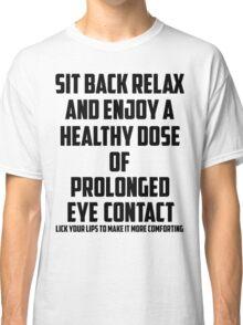Bo Burnham - Prolonged Eye Contact Classic T-Shirt