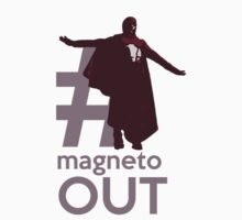 MAGNETO OUT by SallySparrowFTW