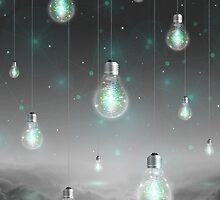 Shine From Within (Shine Bright Series) • Mint Glow by soaringanchor