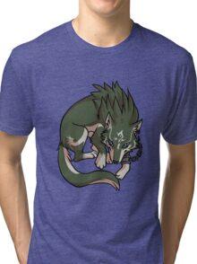 Wolf Link - Legend of Zelda Tri-blend T-Shirt