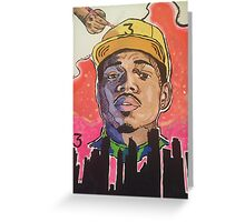 Chance 3 - Coloring Book Greeting Card