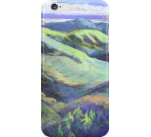 View from the Rooftop St Bernards Tamborine In Pastel  iPhone Case/Skin