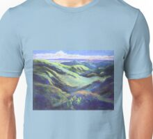 View from the Rooftop St Bernards Tamborine In Pastel  Unisex T-Shirt