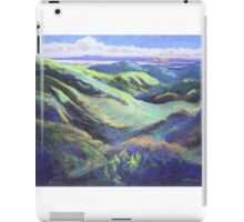View from the Rooftop St Bernards Tamborine In Pastel  iPad Case/Skin