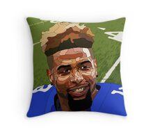 Odell Beckham Throw Pillow
