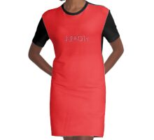 Aeron Graphic T-Shirt Dress
