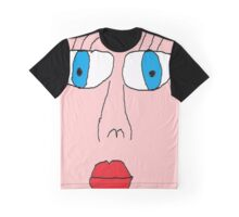 big face Graphic T-Shirt