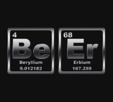 Beer - Periodic Table - Metallic by graphix