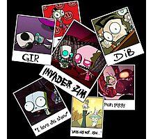 Invader Zim Photo Collage Photographic Print