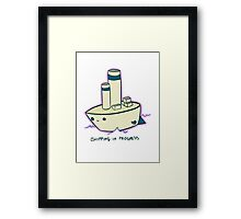 Shipping Framed Print