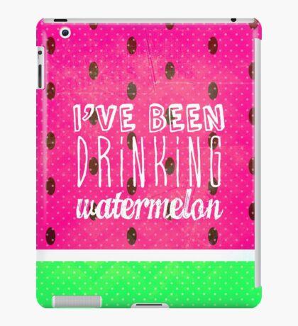 Drinking Watermelon iPad Case/Skin