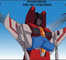 Starscream the Sky Commander by thewhitewolf90