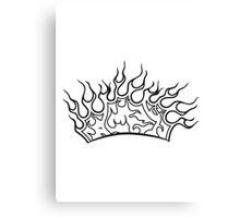 Feuer flammen formation cool  Canvas Print