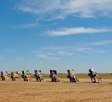 Cadillac Ranch by Gordon  Beck