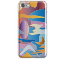 Abstract Colorful Sky Tones Dawn Sunset Daylight Evening iPhone Case/Skin
