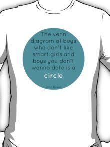 The Venn Diagram of Boys... T-Shirt