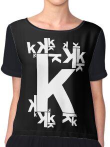 KAFKA (BLACK) Chiffon Top