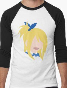 Lucy Heartfilia Men's Baseball ¾ T-Shirt
