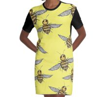 Bumble Bees   Graphic T-Shirt Dress