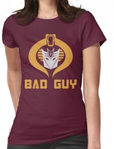 Bad Guy Womens Fitted T-Shirt
