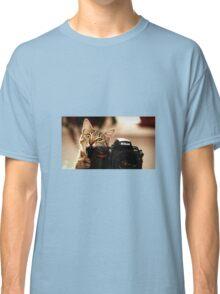 Cat Photographer Classic T-Shirt