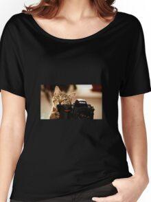 Cat Photographer Women's Relaxed Fit T-Shirt
