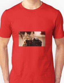 Cat Photographer Unisex T-Shirt