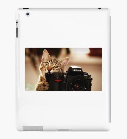 Cat Photographer iPad Case/Skin