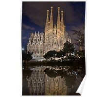 Sagrada Familia Barcelona Poster