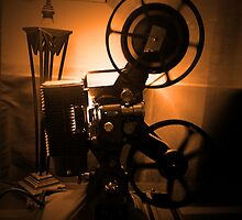 Old Hollywood 8mm Projector by Byron Croft by ByronCroft