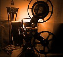 Old Hollywood 8mm Projector by Byron Croft by ByronCroft