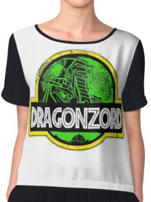 DragonZord  Chiffon Top