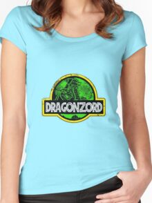 DragonZord  Women's Fitted Scoop T-Shirt