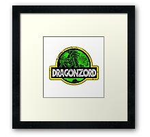 DragonZord  Framed Print