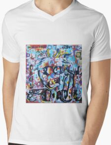 DISLOCATED,  but  still COOL (My head exploded) Mens V-Neck T-Shirt