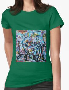 DISLOCATED,  but  still COOL (My head exploded) Womens Fitted T-Shirt