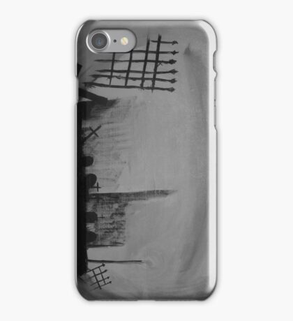 cemetary gates iPhone Case/Skin