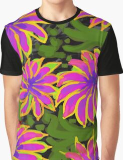 Bold Flowers   Graphic T-Shirt