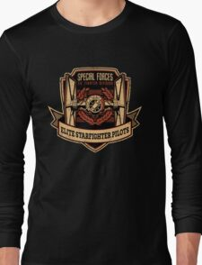 elite starfighter pilots Long Sleeve T-Shirt