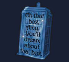 Doctor Who -TARDIS Dream Quote One Piece - Short Sleeve