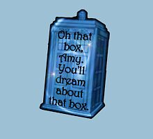 Doctor Who -TARDIS Dream Quote T-Shirt