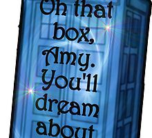 Doctor Who -TARDIS Dream Quote by BagChemistry