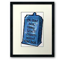 TARDIS Dream - Doctor Who Framed Print