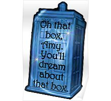 Doctor Who -TARDIS Dream Quote Poster