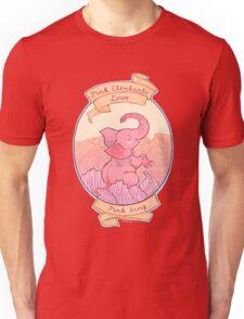 Pink Elephants Unisex T-Shirt